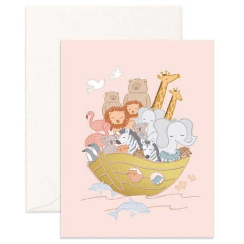 Fox & Fallow Card - Noah's Arc - Tea Pea Home