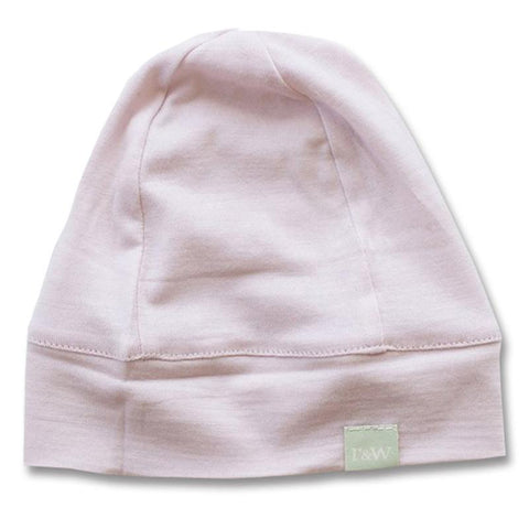Roots & Wings NZ Organic Merino Beanie - Dusty Rose - Tea Pea Home