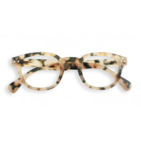 Izipizi France Reading Glasses - Light Tortoise Collection C - Tea Pea