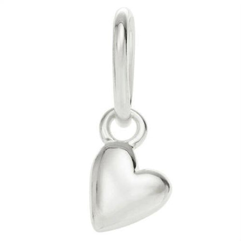 Little Kirstin Ash Charm - Little Heart Sterling Silver - Tea Pea