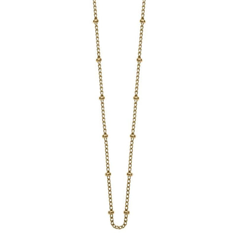 Kirstin Ash Bespoke Ball Chain - Gold - Tea Pea