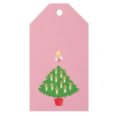 Tea Pea Home Gift Tag - Christmas Tree - Tea Pea Home