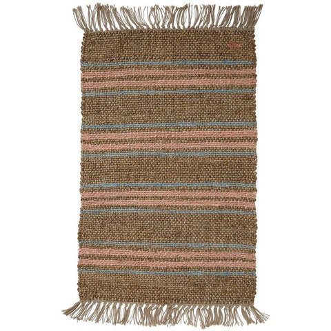Kip & Co Jute Floor Mat - Line Work - Tea Pea Home