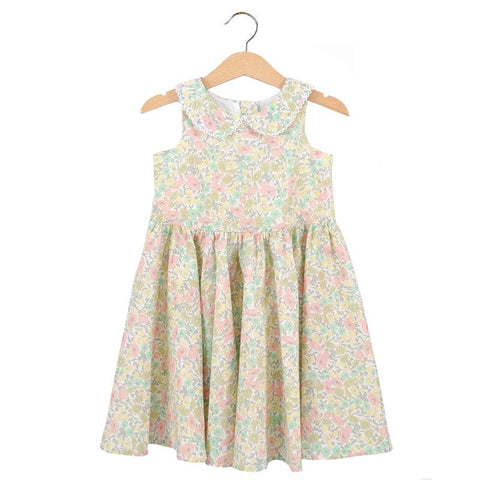 Pretty Wild Maria Dress - Daisy Lime - Tea Pea Home