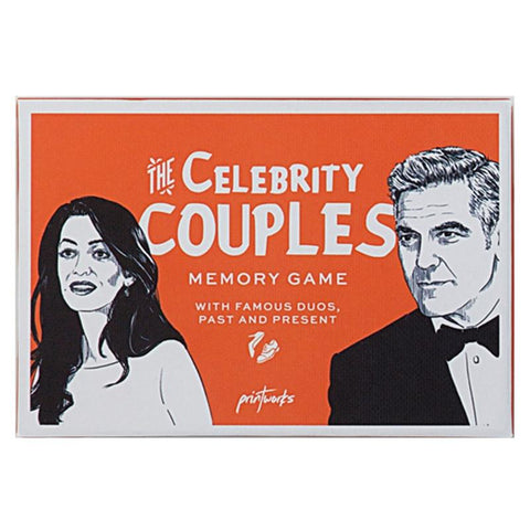 Printworks Memory Game - Celebrity Couples - Tea Pea Home