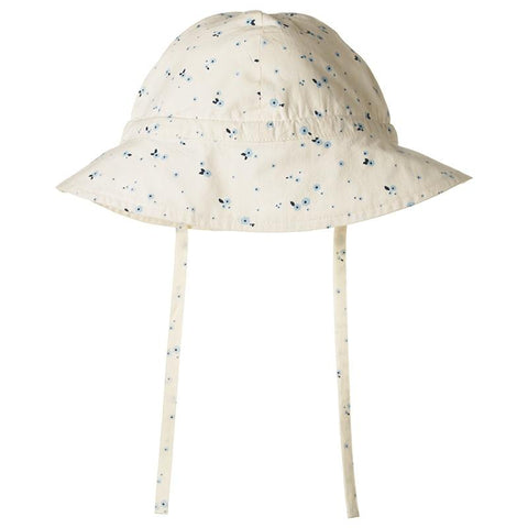 Nature Baby Organic Cotton Poplin Sunhat - Daisy - Tea Pea Home