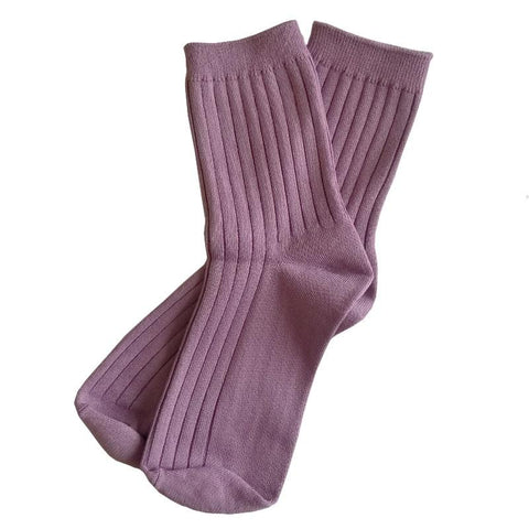 Le Bon Shoppe LA Her Socks - Orchid - Tea Pea Home