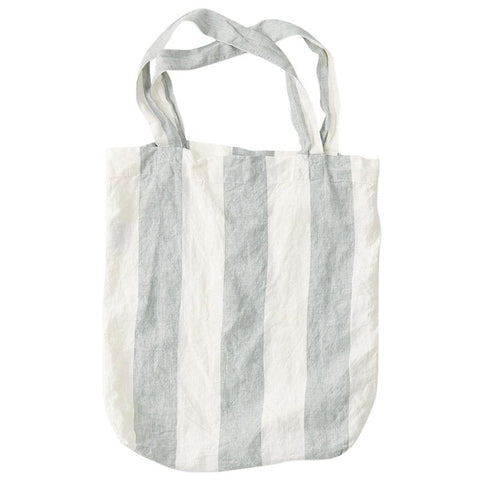 Society of Wanderers Tote Bag - Fog Stripe - Tea Pea Home