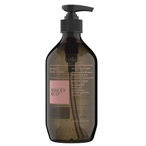 Ashley & Co WashUp Gone Green Hand & Body Wash - Peppy & Lucent - Tea Pea Home