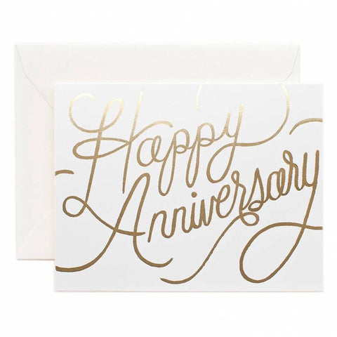 Rifle Paper US Card - Happy Anniversary - Tea Pea Home