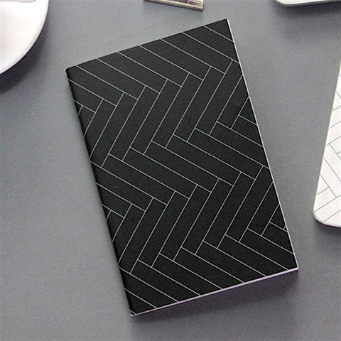 Seeso Graphics Korea Notebook - Herringbone - Tea Pea