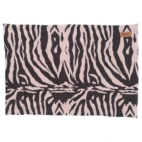 Kip & Co Linen Place Mat Set - Zebra - Tea Pea Home