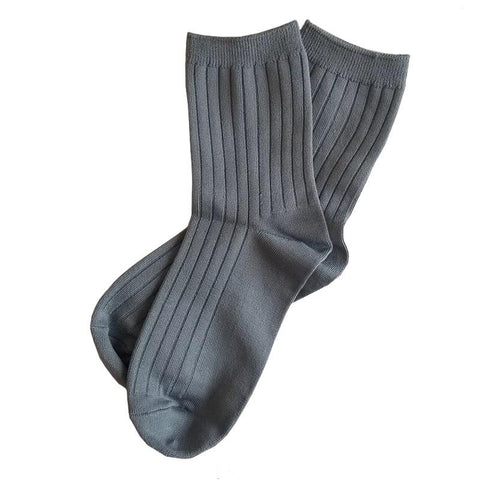 Le Bon Shoppe LA Her Socks - Slate - Tea Pea Home