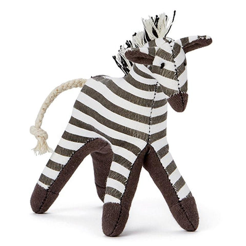 Mini Zebra Rattle - Tea Pea Home