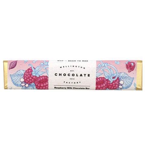 Wellington Chocolate Factory 25g Raspberry Milk Chocolate Mini Bar - Tea Pea Home