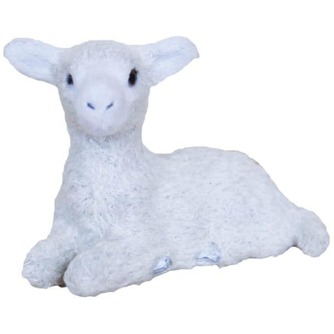 Down to the Woods Woolly White Sitting Lamb - Tea Pea Home