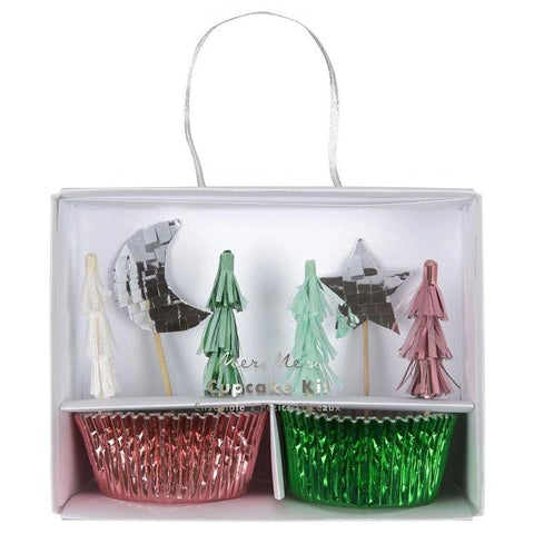 Meri Meri UK Cupcake Kit - Festive Tree - Tea Pea Home
