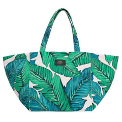 Wouf Barcelona XL Tote Bag - Tropical - Tea Pea Home