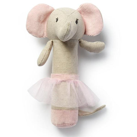 Emme Elephant Rattle - Tea Pea Home