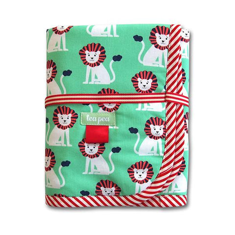 Tea Pea Change Mat – Mini Lions