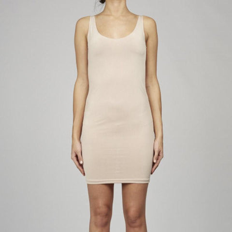 Cable Melbourne Basic Slip Dress - Nude - Tea Pea Home