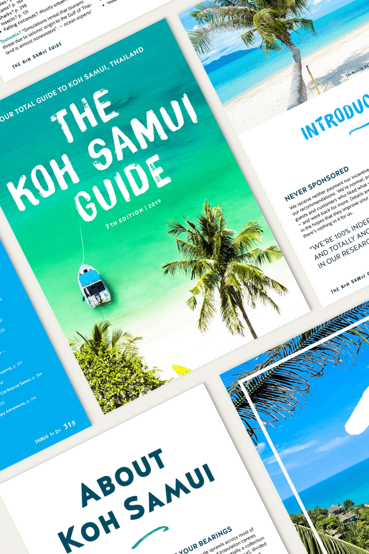 The Koh Samui Guide: Your Total Travel Guide for Koh Samui, Thailand