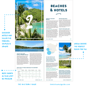 The Koh Samui Guide: Your total guide to Koh Samui, Thailand (7th edition | 2020) – Easily choose your perfect Koh Samui beach and find an ideal hotel for your family or group