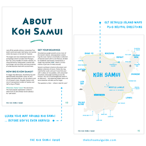 The Koh Samui Guide: Your total guide to Koh Samui, Thailand (7th edition | 2020) – Get detailed island maps for Koh Samui plus helpful directions