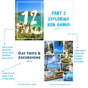 The Koh Samui Guide: Your total guide to Koh Samui, Thailand (7th edition | 2020 travel guide) – Find and plan activities and things to do for all ages, interests and budgets. Learn how to safely and ethically discover Koh Samui.