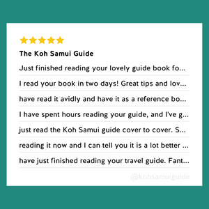 "The Koh Samui Guide: Your total guide to Koh Samui, Thailand (7th edition | 2020 travel guide) – Customer Reviews: ""Just read The Koh Samui Guide cover to cover"""