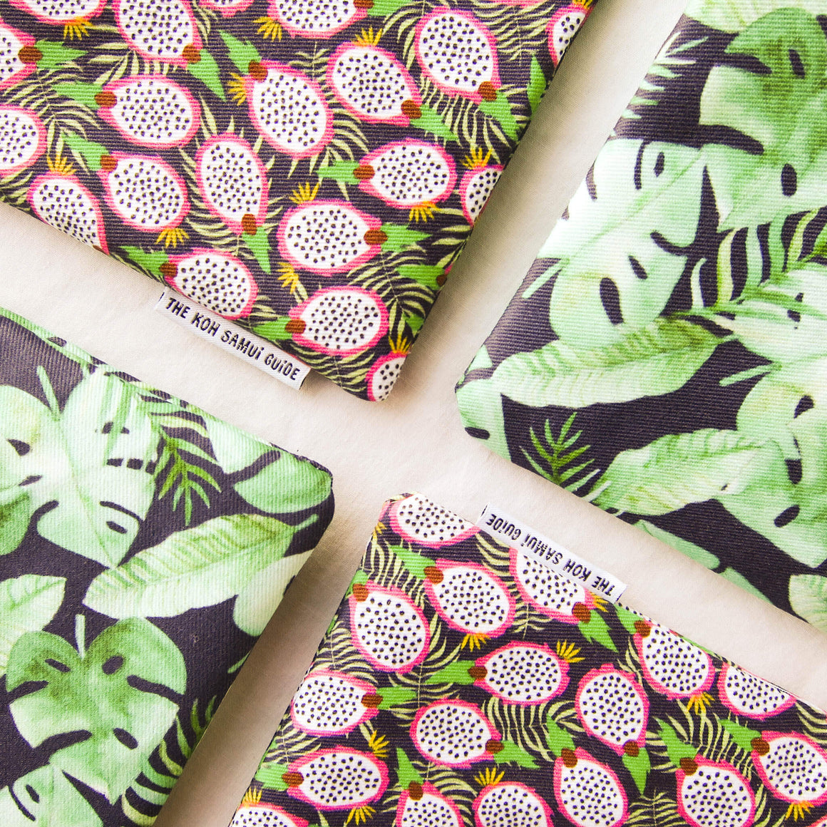 Doctor Pouchy: Tropical-Style Zipper Pouches for COVID Relief in Koh Samui, Thailand