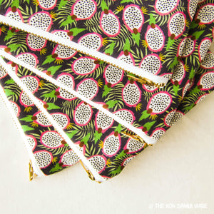Doctor Pouchy: Dragon Fruit Zipper Pouches for COVID Relief in Koh Samui, Thailand
