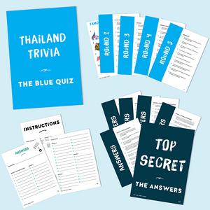 Thailand Trivia – The Blue Quiz