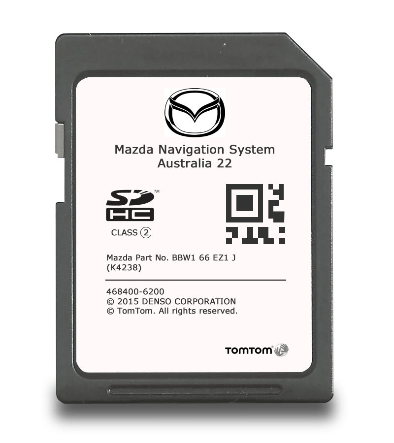 GPS Update SD - Mazda CX7 - TomTom 22