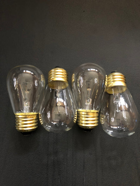 11 Watt Dimmable Incandescent Bulbs by Proxy Lighting - 4 Pack - (Four Bulbs)