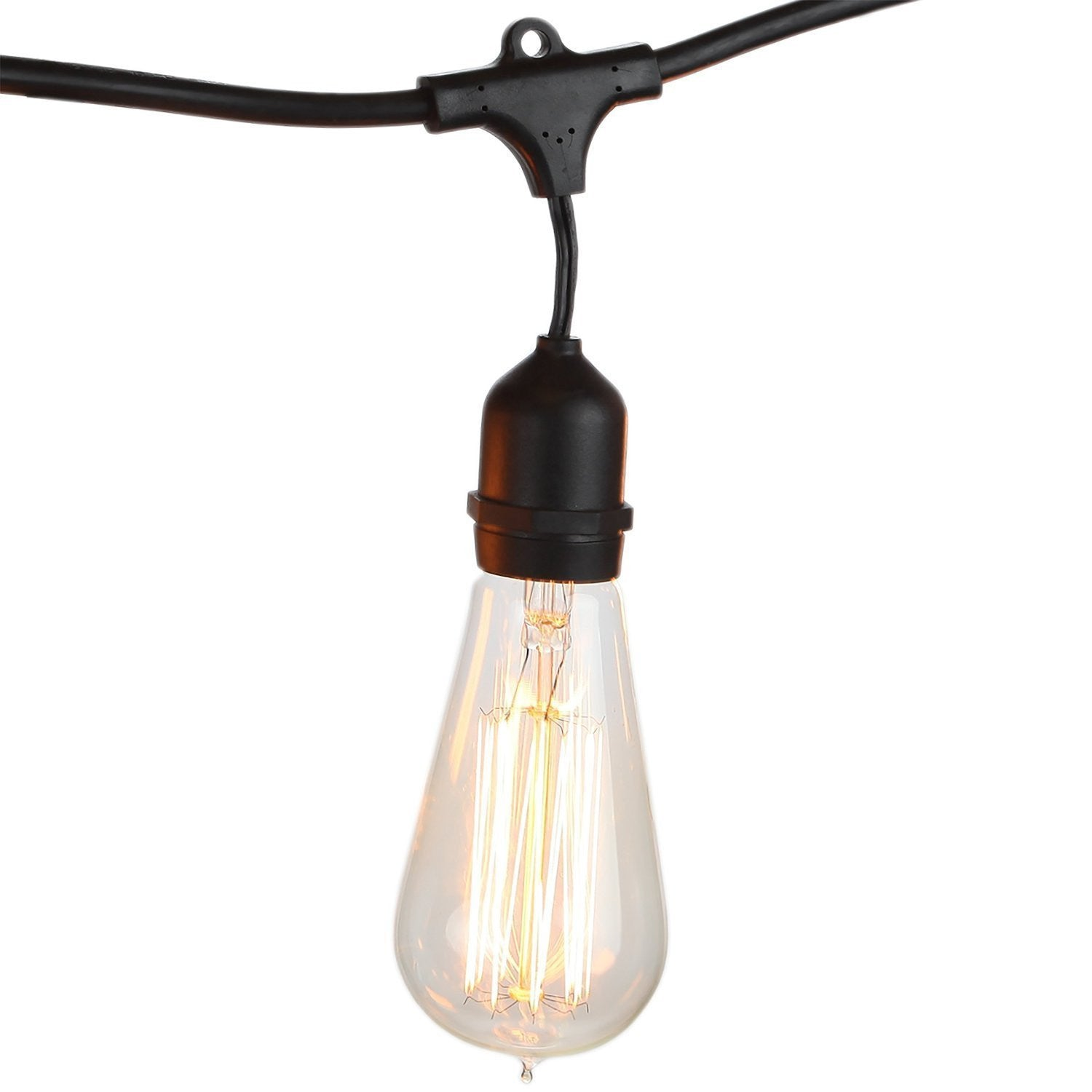 Commercial Patio Lights. Plain Lights Proxy Lighting Weatherproof Outdoor  String Lights With Vintage Edison Bulbs