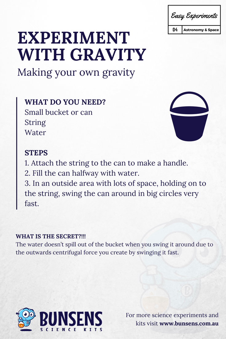 EXPERIMENT WITH GRAVITY - Making your own gravity