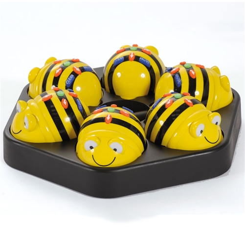 Bee-bot Swarm - 6 Bee-Bots and Docking Station