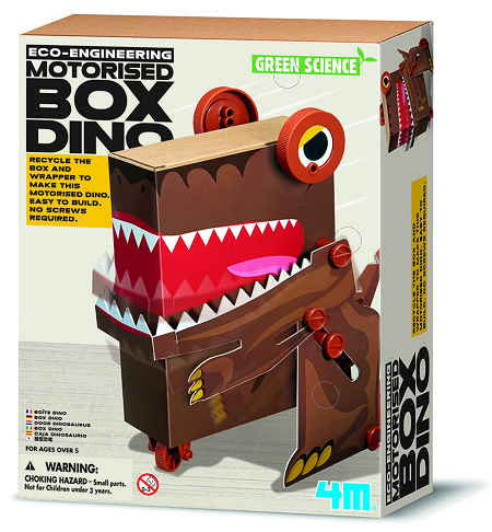 4M - Box Dino:Green Science