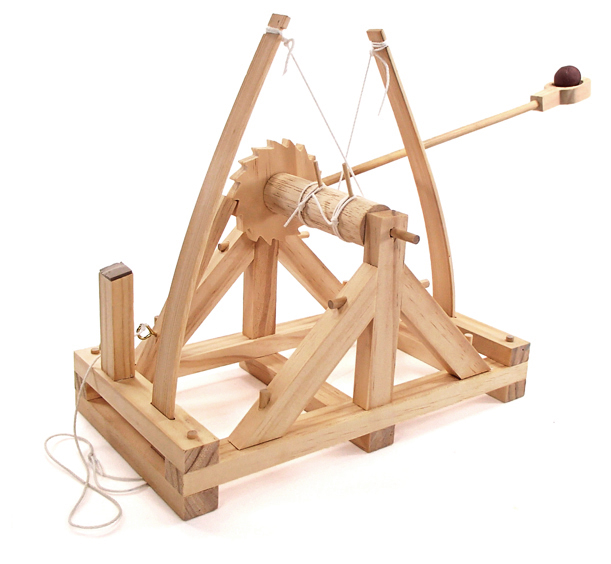 Da Vinci Catapult Wooden Kit - 6703