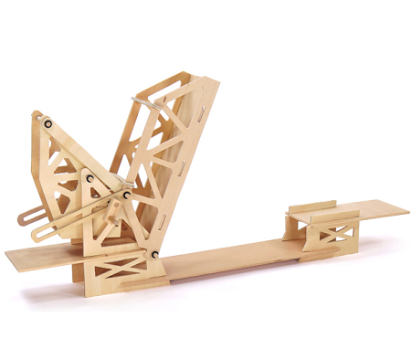 Strauss Trunnion Bascule Bridge Wooden Kit - 6708