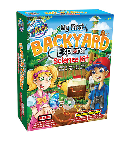 My First Backyard Explorer Science Kit Kids & Educational  Toys