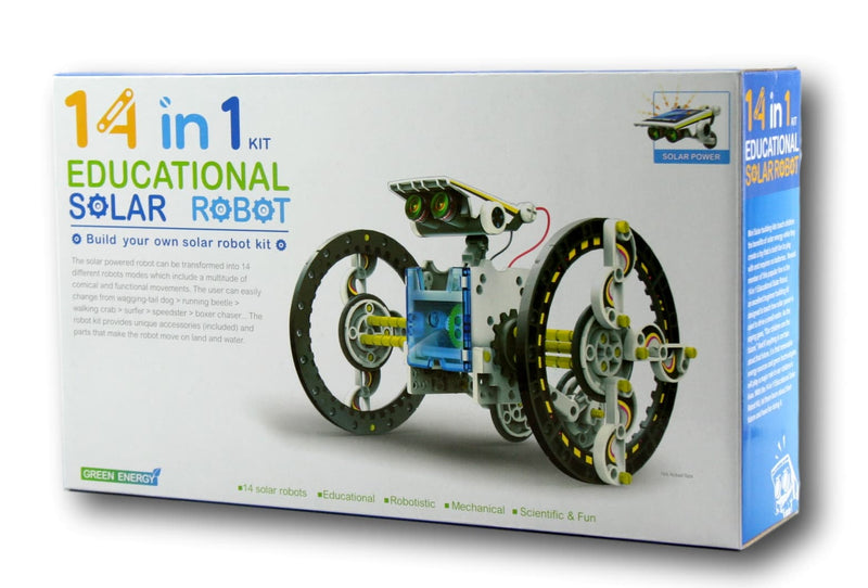 14 IN 1 EDUCATIONAL SOLAR ROBOTS