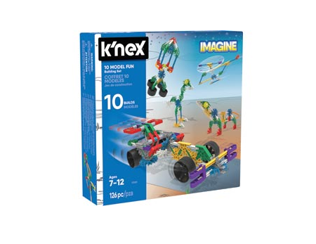KNex 10 Model Fun Building Set - KN17009