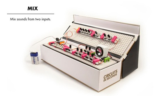LittleBits Input Bits - Mix - LB-650-0132
