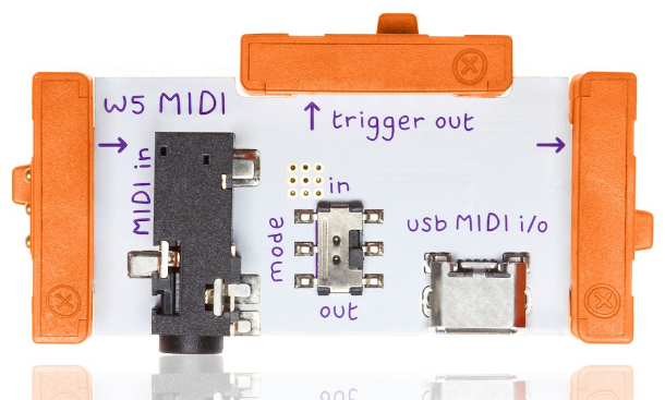 LittleBits Wire Bits - MIDI - LB-650-0146