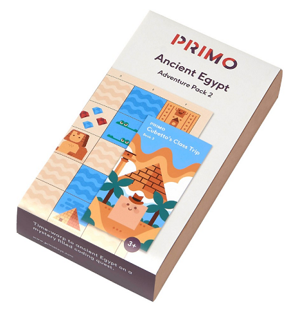 Primo Toys Adventure Pack Map And Story Book - Egypt - PRIMO006A-EN