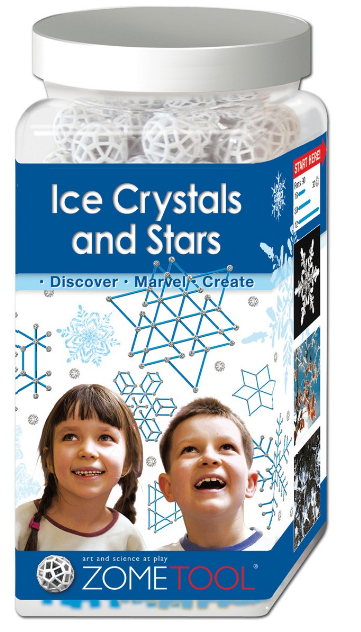 Zometool Project Kit - Ice Crystals & Stars