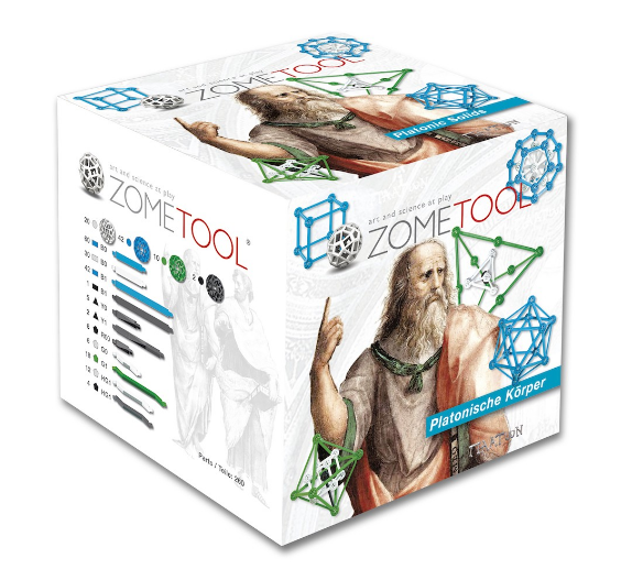 Zometool Project Kit - Platonic Solids