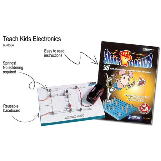 Short Circuits 1 Book and Project Kit